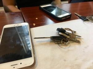 Telefoon sleutels