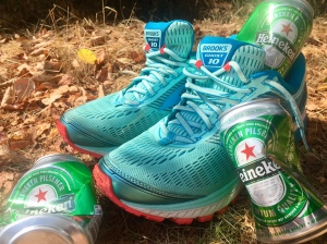 Aandacht Heineken hardlopen