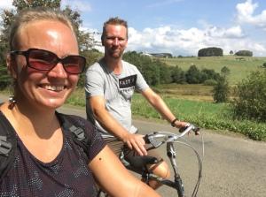 fietsen in de Ardennen