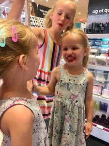 Lippenstift spiegelbeeld