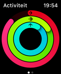 AppleWatch activiteit
