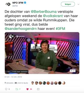 Sander Hoogendoorn 3FM