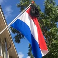 Geslaagd vlag tas