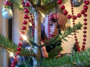 Doorkijkje kerstboom