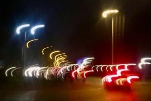 Lampjes verkeer rotonde