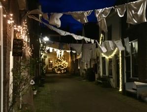 Wasgoed Kerst in Oud Kampen