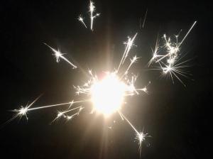Gelukkig nieuwjaar sterretjes